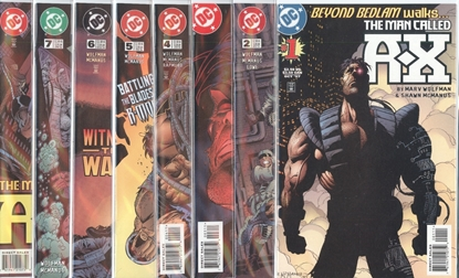 Picture of THE MAN CALLED A-X (1997) #1-8 SET VF/NM