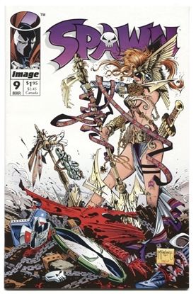 Picture of SPAWN (1992) #9 9.6 NM+