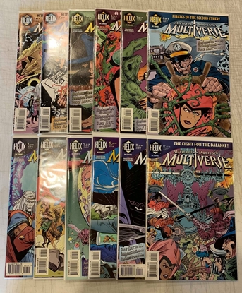 Picture of MICHAEL MOORCOCK'S MULTIVERSE (1997) #1-12 SET VF/NM
