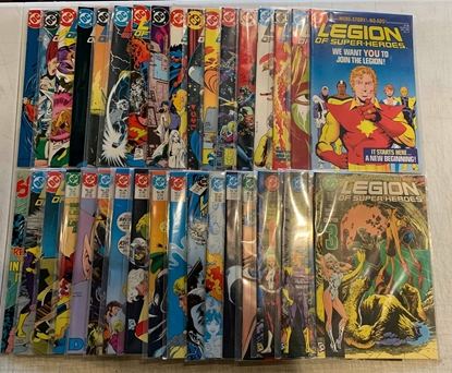 Picture of LEGION OF SUPER-HEROES (1984) #1-63 + ANNUALS #1-4 SET VF/NM