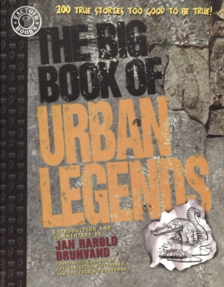 Picture of BIG BOOK OF URBAN LEGENDS