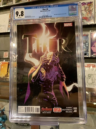 Picture of THOR (2014) #8 CGC 9.8 NM/MT