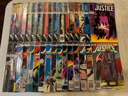 Picture of JUSTICE (1986) #1-32 COMPLETE SET VF+