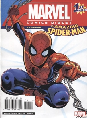 Picture of MARVEL COMICS DIGEST #1 AMAZING SPIDER-MAN