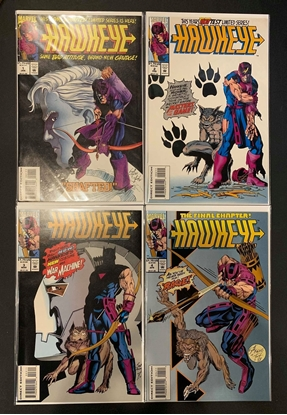 Picture of HAWKEYE (1993) #1 2 3 4 COMPLETE SET HIGH GRADE 3RD SERIES MARVEL COMICS