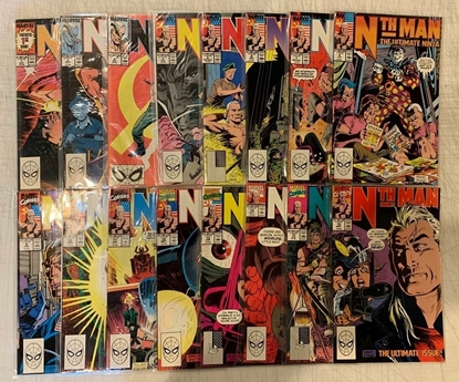 Picture of NTH MAN THE ULTIMATE NINJA #1-16 COMPLETE SET HIGH GRADE