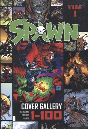 Picture of SPAWN COVER GALLERY HC VOL 01