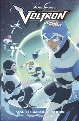 Picture of VOLTRON LEGENDARY DEFENDER TP VOL 03 ABSOLUTION