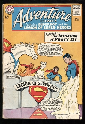 Picture of ADVENTURE COMICS (1938) #322 3.0 GD/VG
