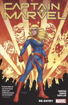 Picture of CAPTAIN MARVEL TP VOL 01 RE-ENTRY