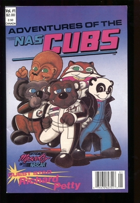 Picture of ADVENTURES OF THE NASCUBS (1991) #1 8.5 VF+