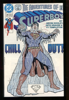 Picture of ADVENTURES OF SUPERBOY #21 9.6 NM+