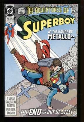 Picture of ADVENTURES OF SUPERBOY #22 9.4 NM