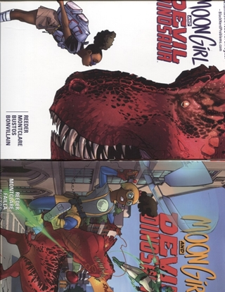 Picture of MOON GIRL AND DEVIL DINOSAUR VOLS 1 2 3 4 5 6 7 & 8 TPB SET