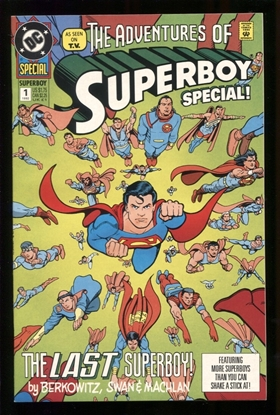 Picture of ADVENTURES OF SUPERBOY: SPECIAL #1 9.2 NM-