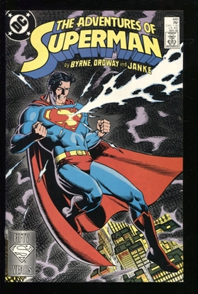 Picture of ADVENTURES OF SUPERMAN (1987) #440 9.2 NM-