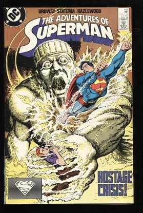 Picture of ADVENTURES OF SUPERMAN (1987) #443 9.2 NM-
