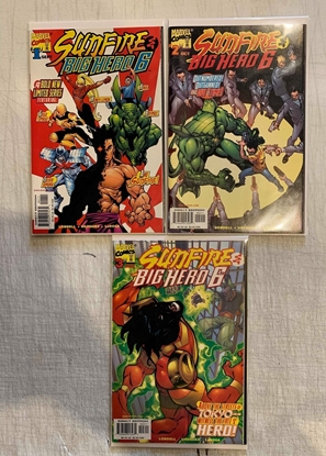 Picture of SUNFIRE & BIG HERO SIX (1998) #1 2 3 SET VF/NM