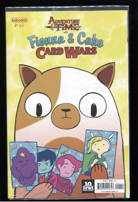 Picture of ADVENTURE TIME FIONNA & CAKE CARD WARS #1 (OF 6) NM