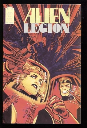 Picture of ALIEN LEGION (1987) #8 9.4 NM