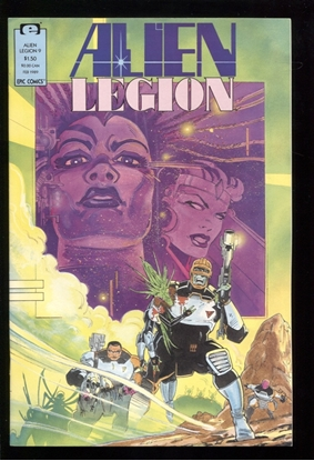 Picture of ALIEN LEGION (1987) #9 9.4 NM