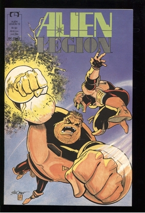 Picture of ALIEN LEGION (1987) #12 9.4 NM