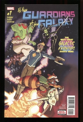 Picture of ALL NEW GUARDIANS OF GALAXY (2017) #1 NM