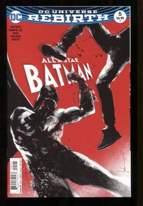 Picture of ALL STAR BATMAN #5 NM JOCK VAR ED