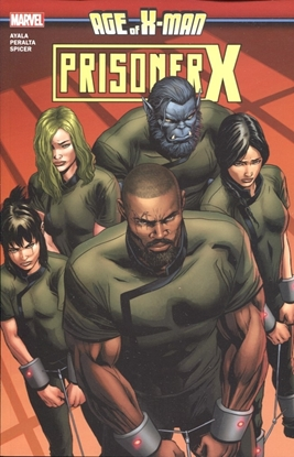 Picture of AGE OF X-MAN PRISONER X TP