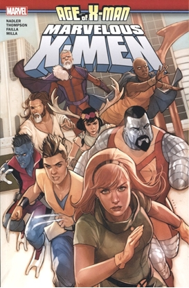 Picture of AGE OF X-MAN MARVELOUS X-MEN TP