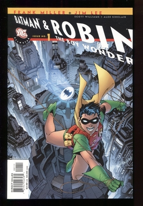 Picture of ALL STAR BATMAN & ROBIN (2005) #1 ROBIN CVR 9.6 NM+