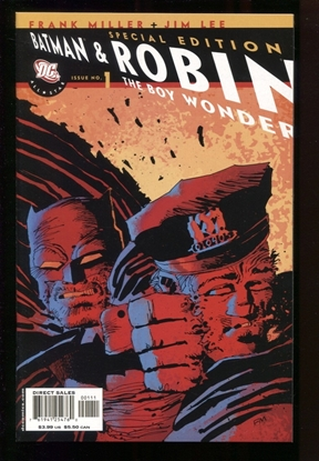 Picture of ALL STAR BATMAN & ROBIN (2005) #1 SPECIAL ED CVR 9.6 NM+