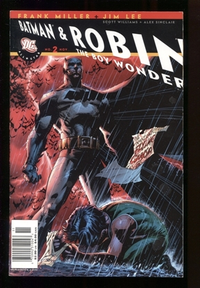 Picture of ALL STAR BATMAN & ROBIN (2005) #2 JIM LEE CVR 9.4 NM