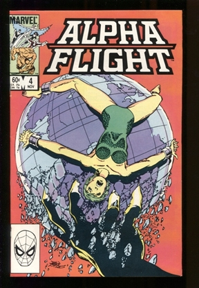 Picture of ALPHA FLIGHT (1983) #4 9.2 NM-