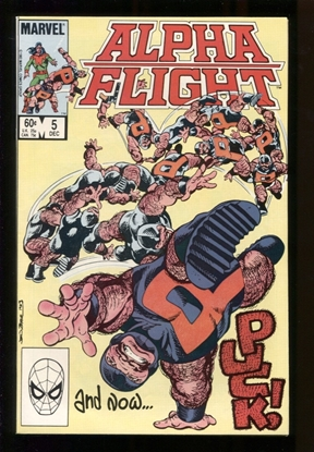 Picture of ALPHA FLIGHT (1983) #5 9.6 NM+