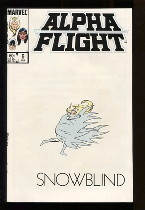 Picture of ALPHA FLIGHT (1983) #6 9.6 NM+