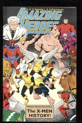 Picture of AMAZING HEROES #54 8.0 VF