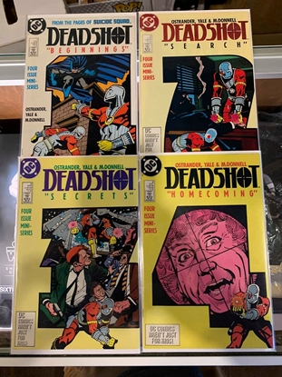 Picture of DEADSHOT (1988) #1-4 SET NM-