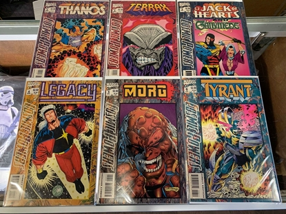 Picture of COSMIC POWERS (1994) #1-6 SET NM