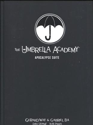 Picture of UMBRELLA ACADEMY LIBRARY EDITION HC VOL 01 APOCALYPSE SUITE