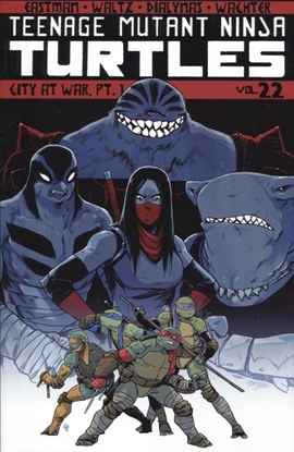 Picture of TMNT ONGOING TP VOL 22 CITY AT WAR PT 1
