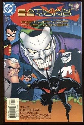 Picture of BATMAN BEYOND: RETURN OF JOKER #1 9.6 NM+