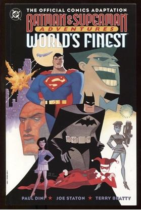 Picture of BATMAN & SUPERMAN ADVENTURES: WORLD'S FINEST GN 9.6 NM+