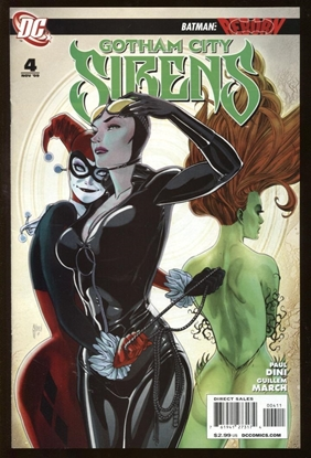 Picture of BATMAN GOTHAM CITY SIRENS (2009) #4 9.4 NM