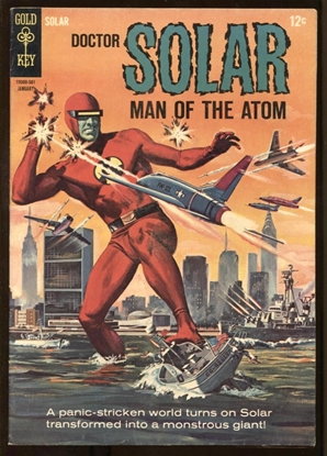 Picture of DOCTOR SOLAR #10 1965 6.5 FN+