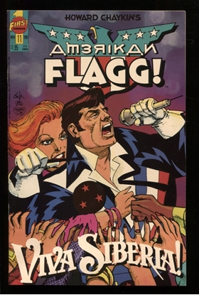 Picture of AMERICAN FLAGG! (1988) #11 9.4 NM