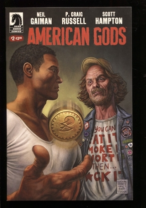 Picture of NEIL GAIMAN AMERICAN GODS SHADOWS #2 (MR) NM