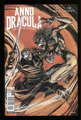 Picture of ANNO DRACULA (2017) #1 (OF 5) CVR B MANDRAKE (MR) NM
