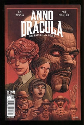 Picture of ANNO DRACULA (2017) #2 (OF 5) CVR B MCCAFFREY (MR) NM