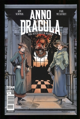 Picture of ANNO DRACULA (2017) #3 (OF 5) CVR B MANDRAKE NM